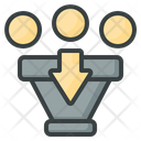 Funnel Filtering Sort Icon