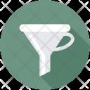 Funnel Filter Laboratory Icon
