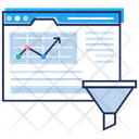 Funnel Analysis Icon
