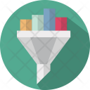 Funnel Filter Pipe Icon