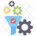 Funnel Setting Funnel Configuration Funnel Management Icon
