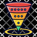 Funnel Steps Funnel Makreting Icon
