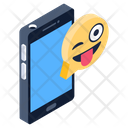 Emoji Message Mobile Message Funny Chat Icon