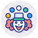Funny Clowns Icon