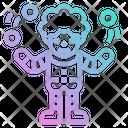 Clown Circus Funny Icon