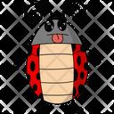 Funny Ladybug Icon