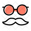 Funny Party Mask Icon