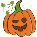 Funny Pumpkin Icon
