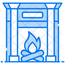 Furnace Fireplace Home Hearth Icon