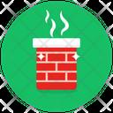 Furnace Kiln Heating System Icon