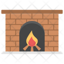 Furnace Fireplace Room Furnace Home Heating Icon