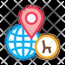 Furniture Shop Location Icon