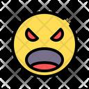 Fury Rage Upset Icon