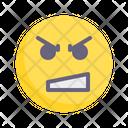 Fury Upset Grumpy Icon
