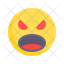Fury Angry Rage Icon