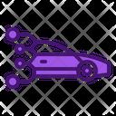 Future Drive Artificial Car Artificial Intelligence Icon