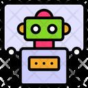 Future Education Educational Robot Humanoid Robot Face Icon