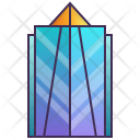 Futuristic Building Icon