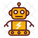 Futuristic Robot Robot Machine Icon