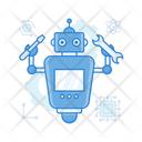 Futuristic Robot Icon