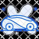 Futuristic Vehicle Futuristic Car Driverless Car Icon