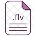Fv File Document Icon