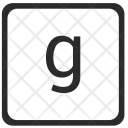 G Letter Icon