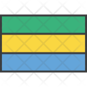 Gabon Gabonese African Icon