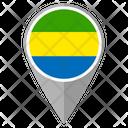 Gabon Country Location Location Icon