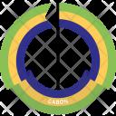 Gabon Country Flag Icon