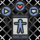 Gadget Smartphone Application Icon