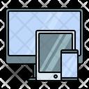Gadget Device Responsive Icon