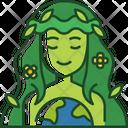 Gaia Greek Harvest Icon