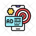 Targeted Advertising Color Icon