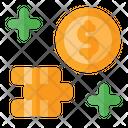 Gain Money Earning Profit Increse Icon