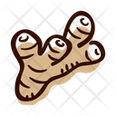 Galangal root Icon