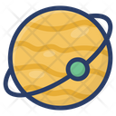 Galaxy Orbit Planet Icon