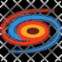 Star System Solar System Milkyway Icon