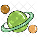 Galaxy Orbit Planet Icon