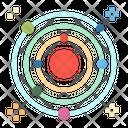 Space Planet Sun Icon
