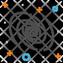 Galaxy Nebula Space Icon