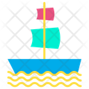 Galleon Ship Boat Icon