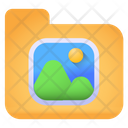 Pictures Folder Gallery Folder Gallery Binder Icon