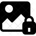 Gallery Lock Gallery Picture Icon