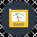 Ammeter Voltmeter Galvanometer Icon