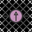 Galvanometer Circuit Icon