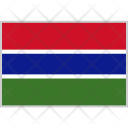 Gambia Flag Country Icon