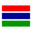 Gambia Flag Flags Icon