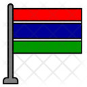 Gambia Country Flag Flag Icon
