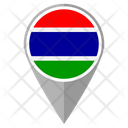 Gambia Country Location Location Icon